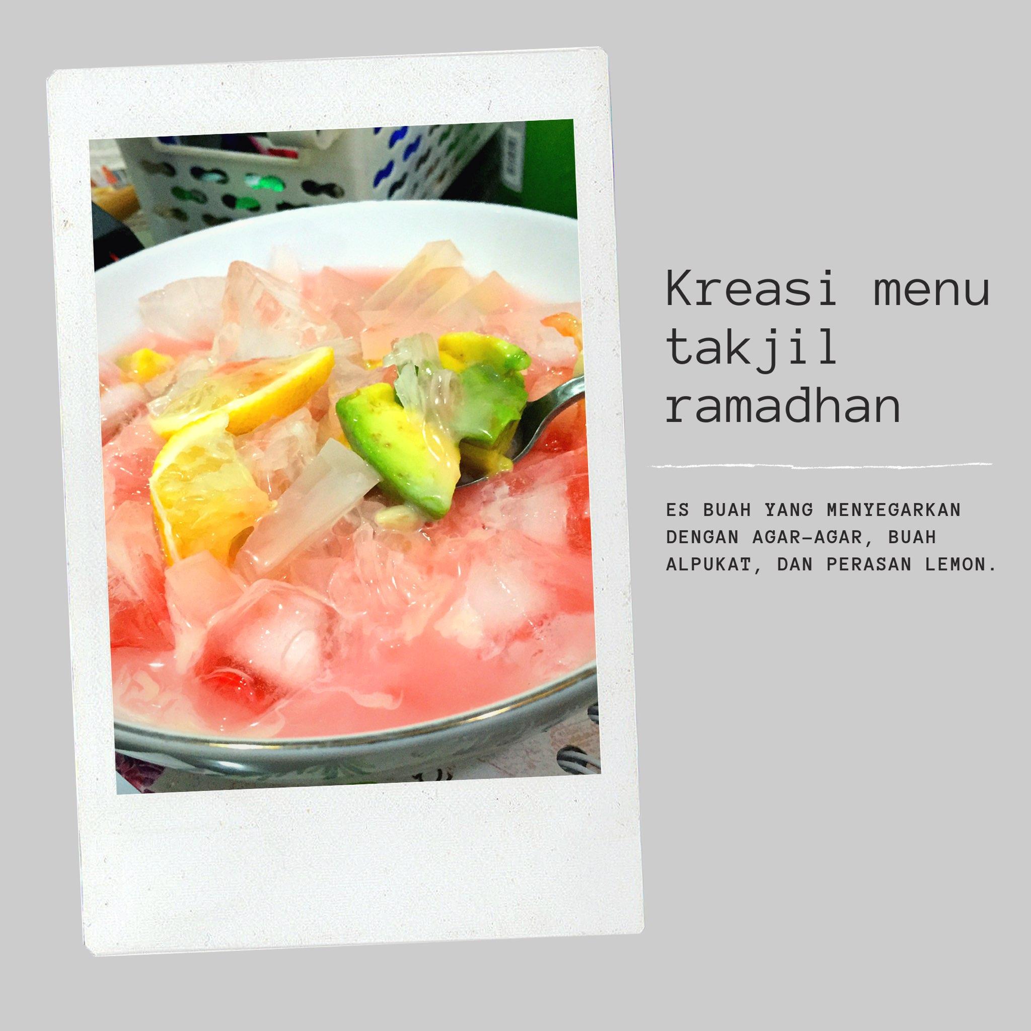 takjil, sop buah