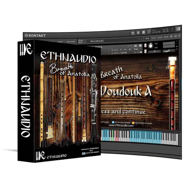 ETHNAUDIO - Breath of Anatolia KONTAKT Library