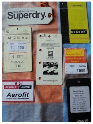 Barcode Labels for Apparel Store