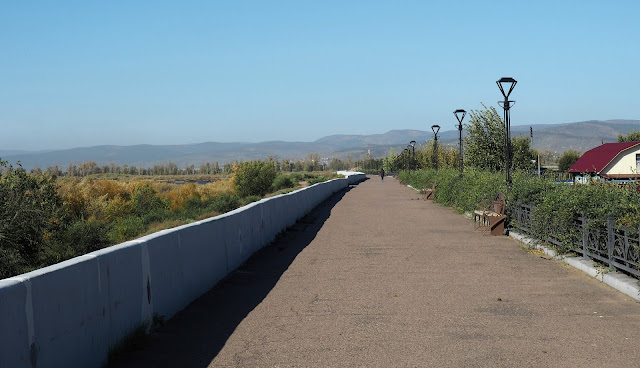 Улан-Удэ, набережная реки Уда