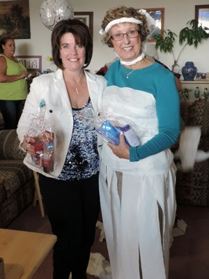 Our winners - Kathleen Miller and Barbara