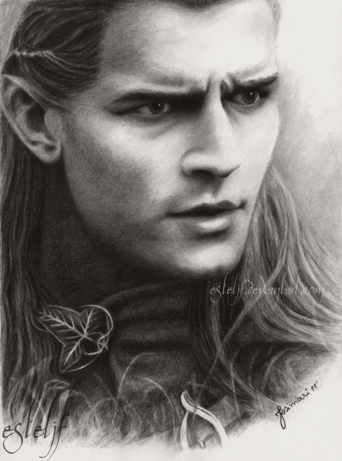 06-Legolas-Orlando-Bloom-Josi-Fabri-Esteljf-The Hobbit-LotR-www-designstack-co