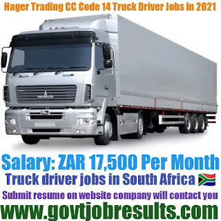 Hafre Trading LLC Code 14 Truck Driver Recruitment 2021-22