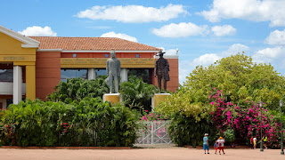 Famous statues in Nicaragua