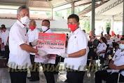 Bupati Minsel Franky Wongkar Launching Dana Desa Tahap I