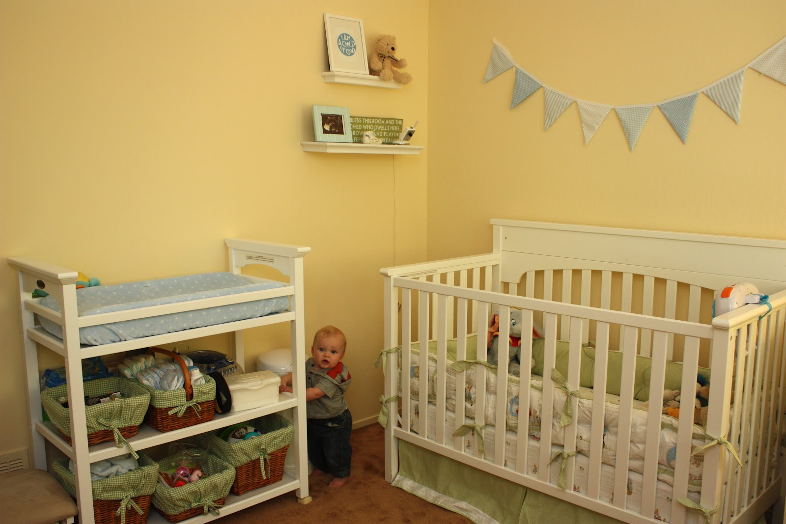 Graco Lauren Changing Table White Designs. Meet The Sullivans Owen S Nursery