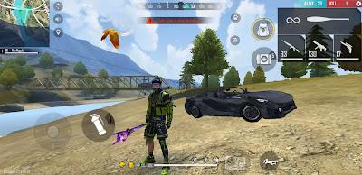 Free fire Sports Car