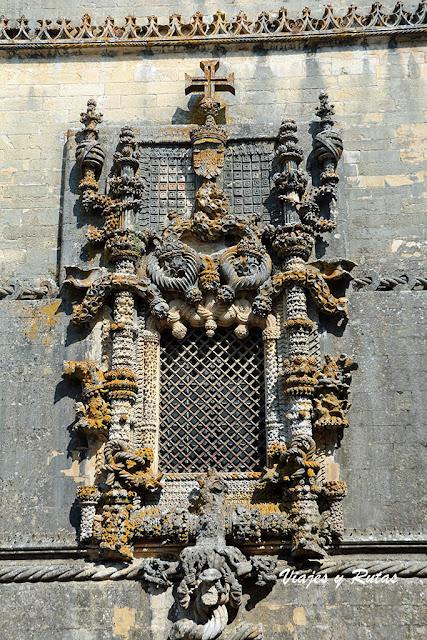 Convento de Tomar, Ventana del capitulo