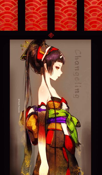 Yuuki Fuyuno Changeling