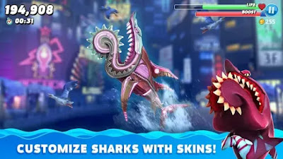 Hungry Shark World Mod v8.5.28 APK (Unlimited Coins/Gems)