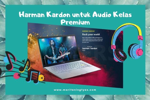 audio harman kardon untuk asus vivobook