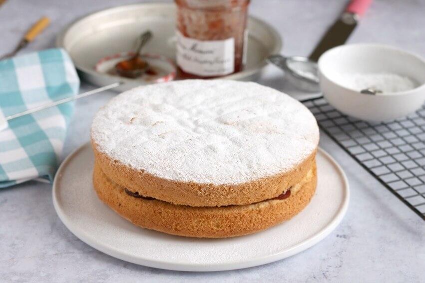 Fat Free Sponge Cake