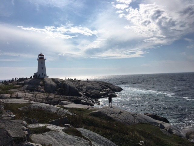 Photo of Peggy's Cove Lighthouse, Nova Scotia