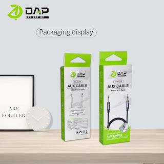Kabel Aux DAP D-AU01 100cm Professional Audio Jack 3.5mm Male to Male