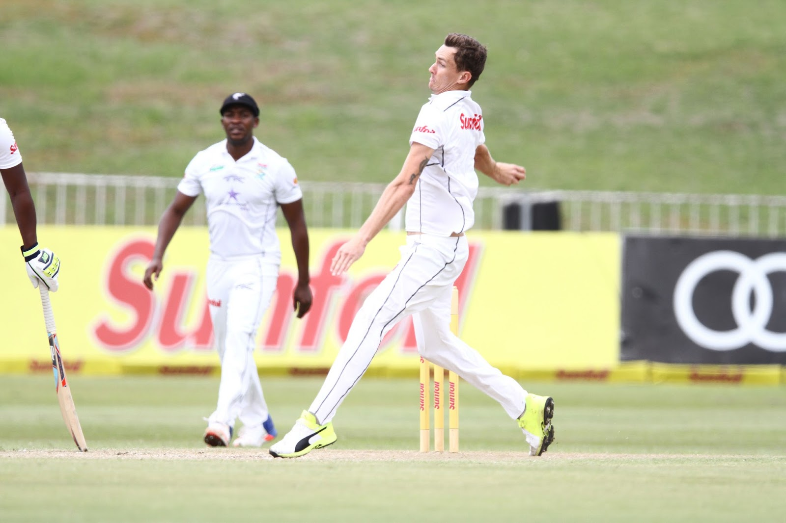 Calvin Savage (Credit: Anesh Debiky) - Hollywoodbets Dolphins - Sunfoil Series
