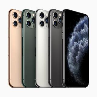سعر و مواصفات هواتف ايفون 11 و ايفون 11 برو و ايفون11 برو ماكس iPhone 11 Pro Max
