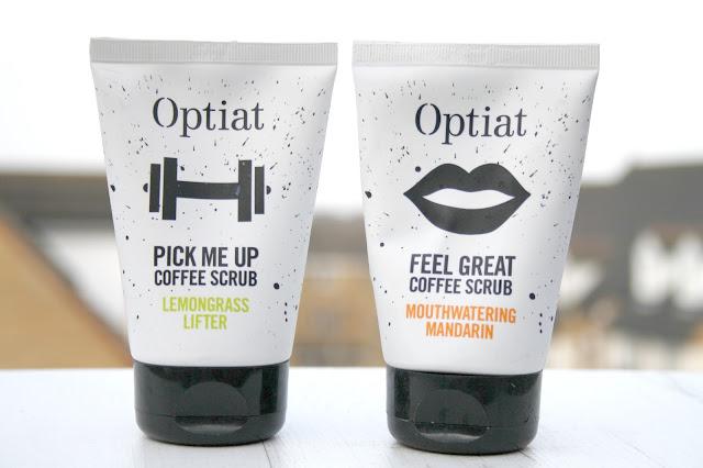 Optiat Coffee Scrubs