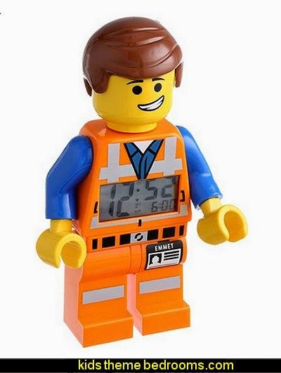 LEGO Kids  Emmet Figurine Alarm Clock