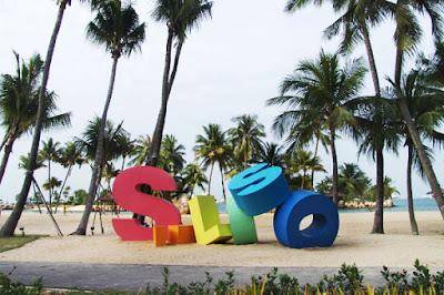 Siloso Beach -tripswheel