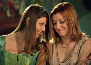 Amber Benson and Alyson Hannigan