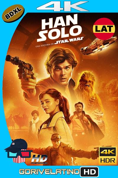 Han Solo : Una Historia de Star Wars (2018) BDXL 4K UHD HDR Latino-Ingles ISO