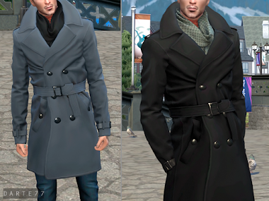 Trench Coat (Male/Female) - Patreon Exclusive