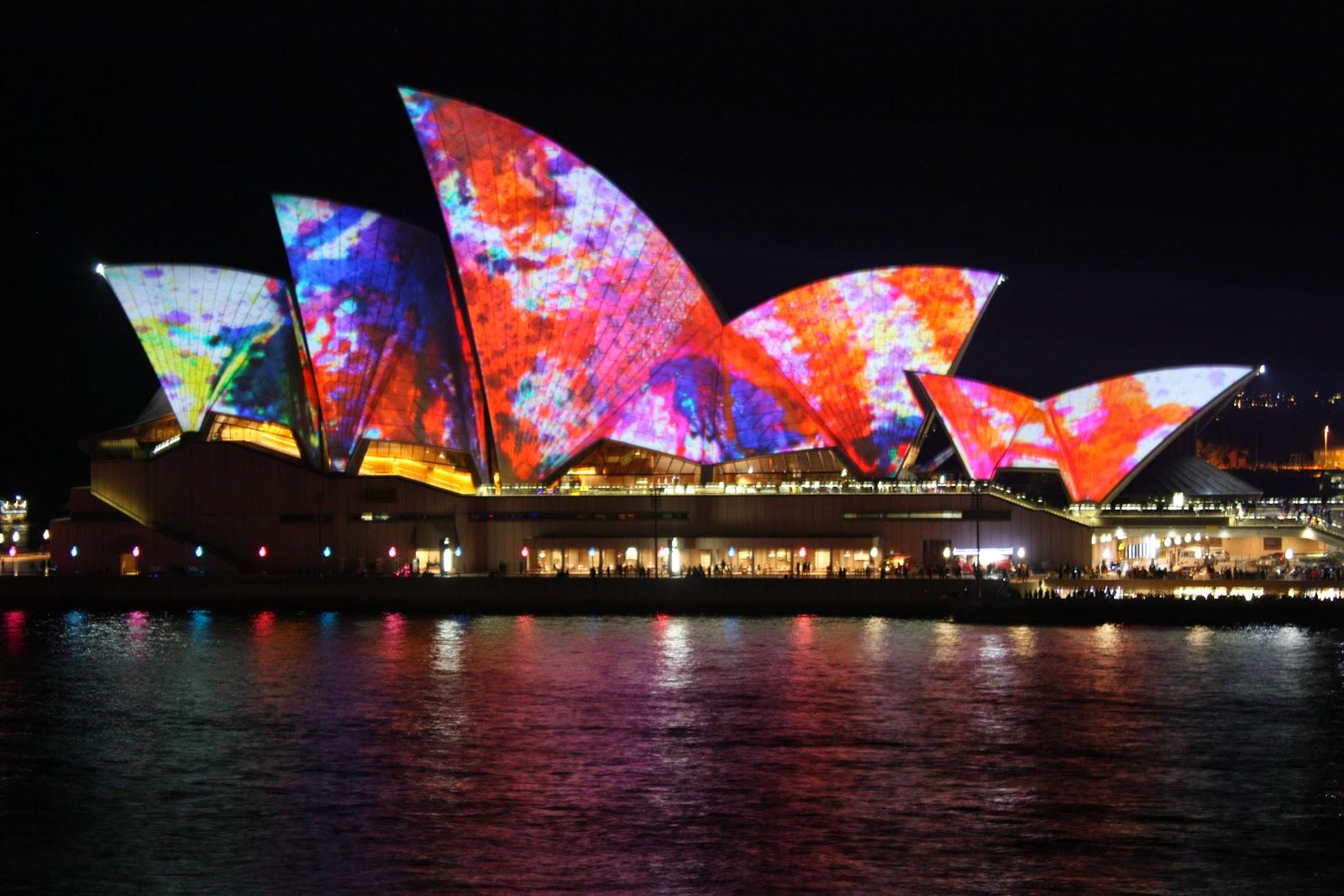 Sydney City And Suburbs Sydney Opera House Vivid Sydney