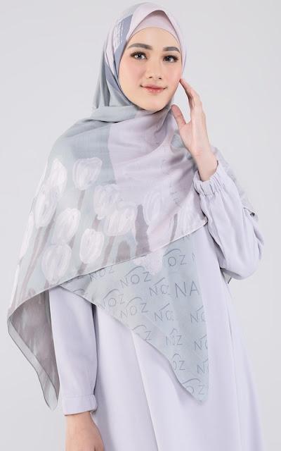 Naziqa Syar'i Printed Scarf