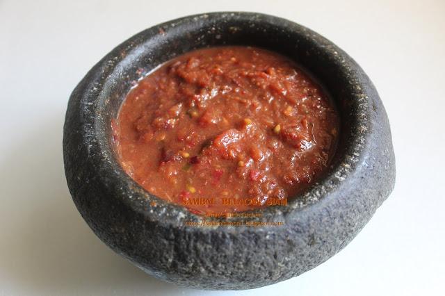 resepi sambal belacan siam