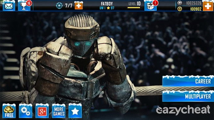 Real Steel WRB Cheats