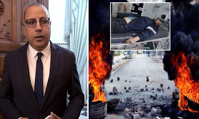 تونس - على خلفية الحادثة الاليمة : هشام مشيشي يقيل والي القصرين ومعتمد سبيطلة