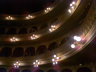Interior del gran teatro Manuel de falla