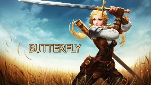 Butterfly được thiết kế rất dịu dàng êm ả, nhịp nhàng