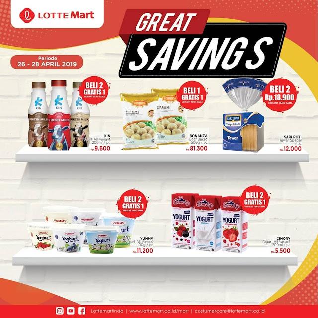 #LotteMart - #Promo #Katalog JSM Periode 26 - 28 April 2019