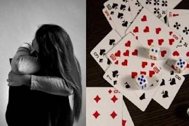 Man uses wife to gamble and loses