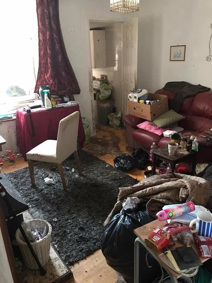 Antes y después de una casa que estuvo sucia por 12 años; tardaron 50 horas en limpiar