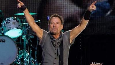 El cantante Bruce Springsteen en un concierto en Madrid