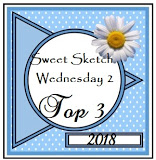 A Top Three Pick at Sweet Sketch Wednesday