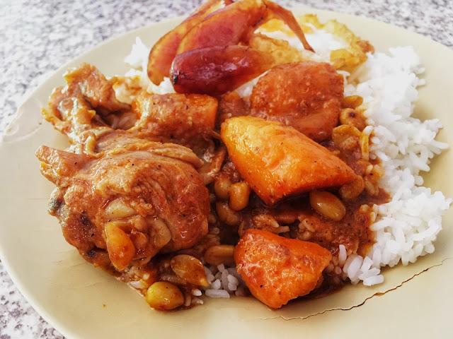 Massaman Curry in Thailand