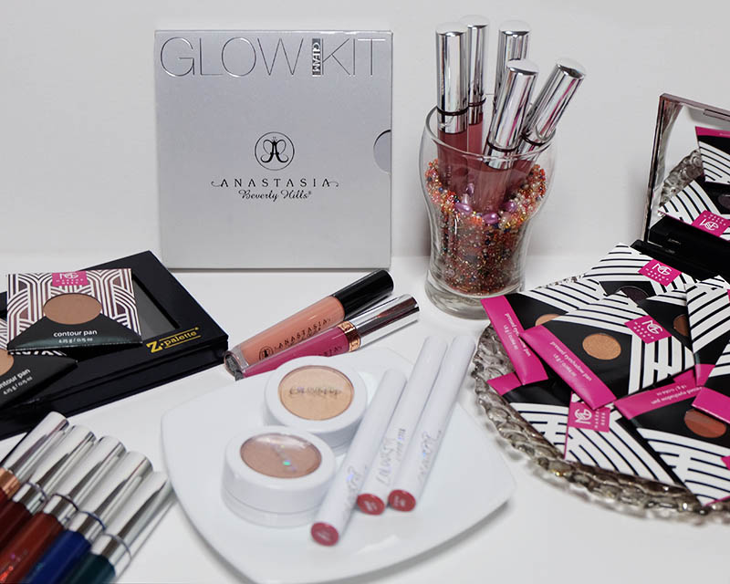 Bash Harry shows her American Makeup Haul featuring US-Based brands Anastasia Beverly Hills, ColourPop and Makeup Geek