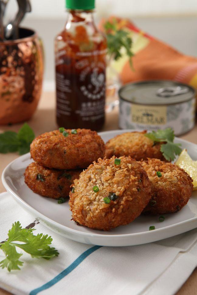 Thai tuna fish cakes recipe