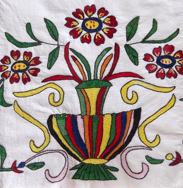 ελληνικά κεντήματα, βυζαντινή βελονιά, κρητική βελονιά, σύνθετη βυζαντινή βελονιά, πυκνή βυζαντινή βελονιά. βυζαντινό κέντημα