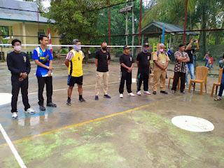 Ajang Silaturahmi Turnamen Sepak Takrau Perdana Desa Penuba Timur