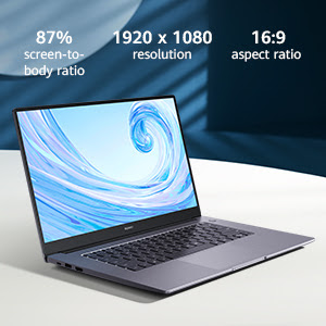 Layar Huawei Matebook D15
