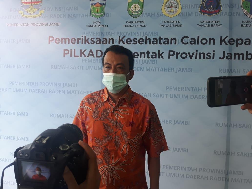 Medical Check Up Pilkada Serentak Kepala Daerah Provinsi Jambi