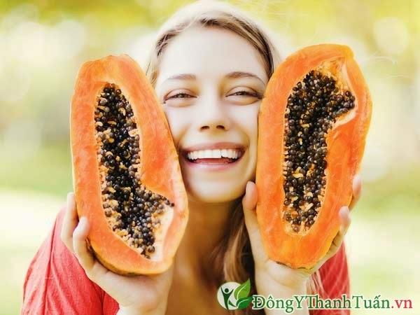 Thực phẩm có lợi cho dạ dày - Đu đủ