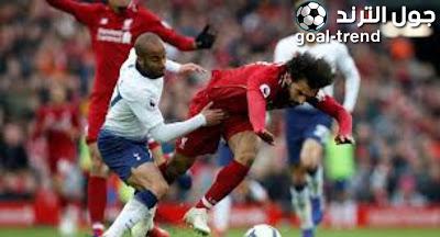 ليفربول يخوض مواجهة قوية امام توتنهام