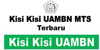 Kisi Kisi UAMBN MTs Tahun 2020 PDF Terbaru