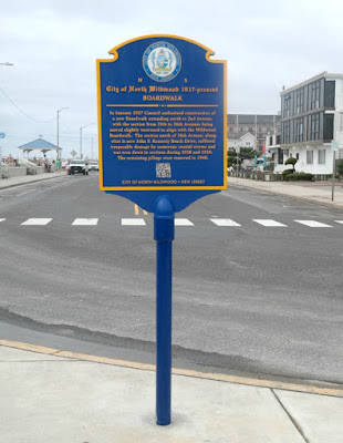 City of North Wildwood Boardwalk Historical Marker