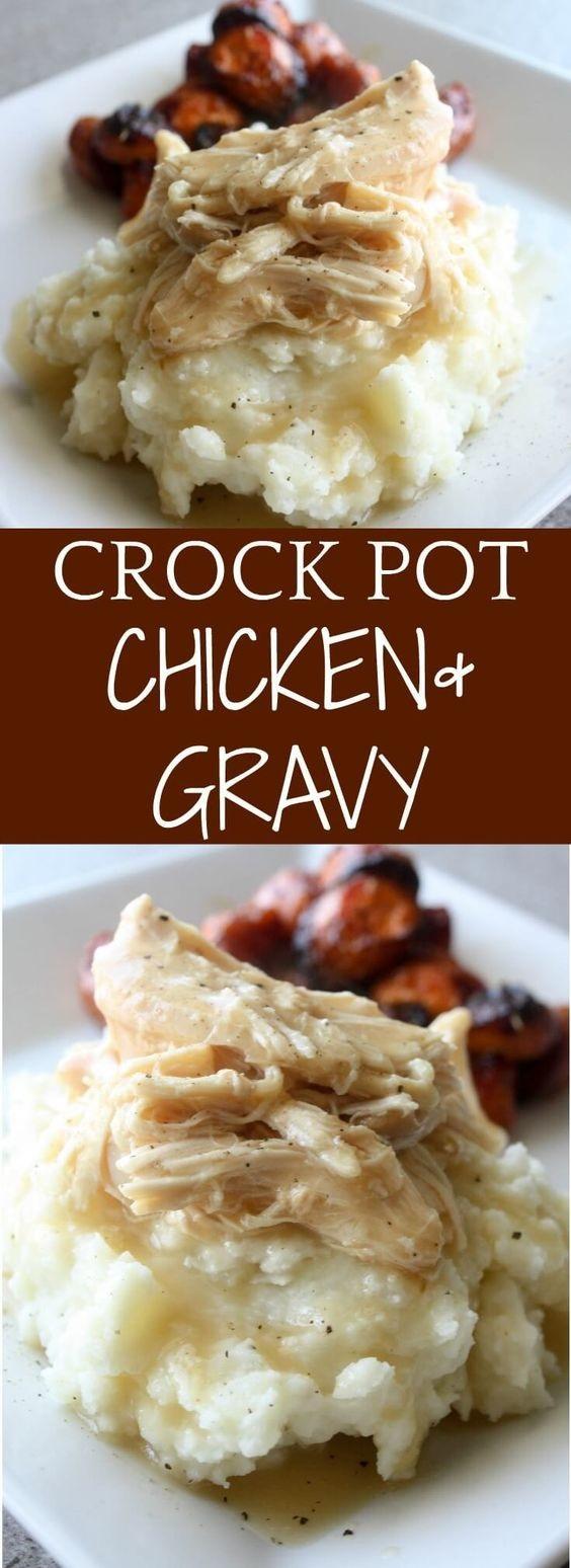 Crock-pot Chicken And Gravy